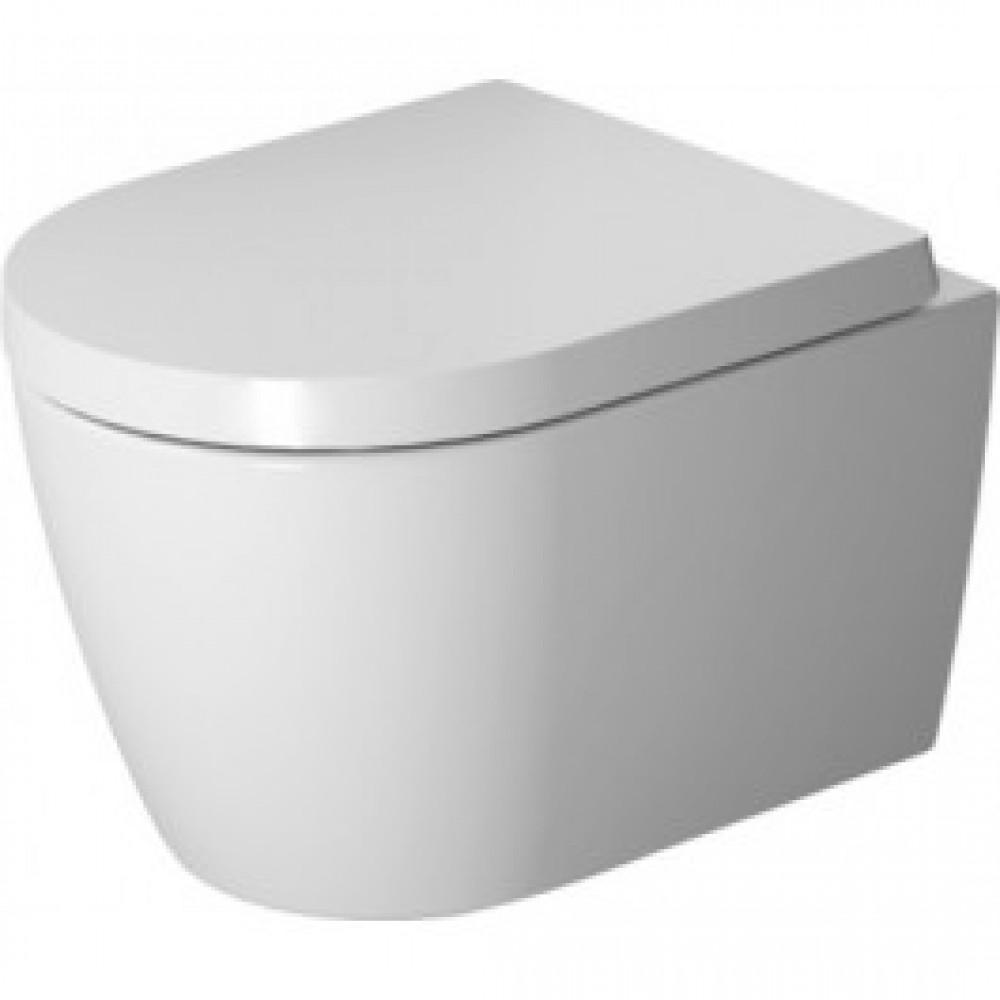 cuvette wc suspendue fond creux me by starck compact rimless duravit bricozor. Black Bedroom Furniture Sets. Home Design Ideas