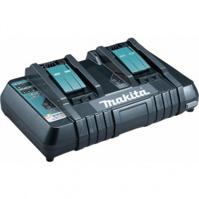 Chargeur double 14,4 à 18 V-DC18RD + port USB MAKITA