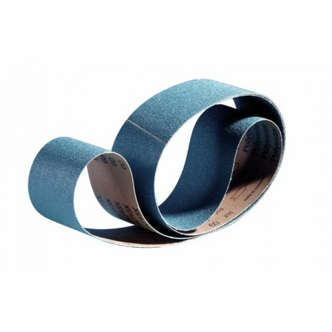 Abrasifs en bandes standards toile rigide zirconium ZK 713 X VSM