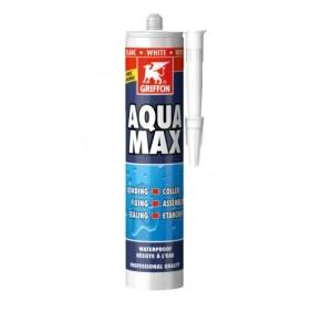 Mastic-colle polymère - sans solvant - cartouche 425 gr - Aqua Max® GRIFFON