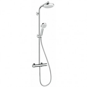 Colonne de douche - mitigeur thermostatique - Showerpipe Crometta 160 HANSGROHE