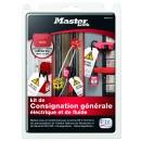 Kit de consignation générale - français MASTER LOCK
