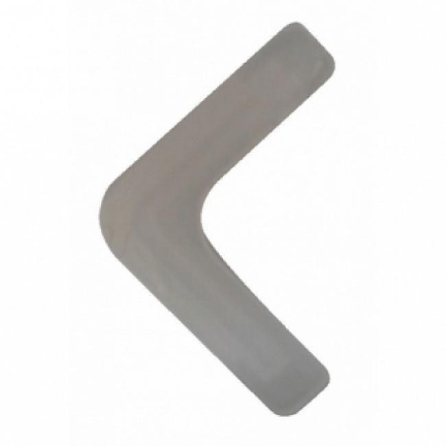 Pieds plastique pour cornières métalliques
