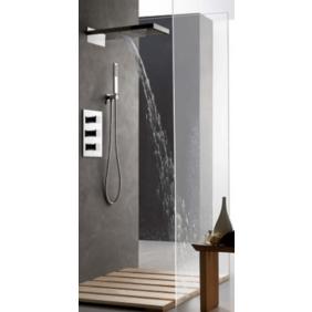 Colonne de douche encastrable murale et cascade avec mitigeur TASCADA SARODIS
