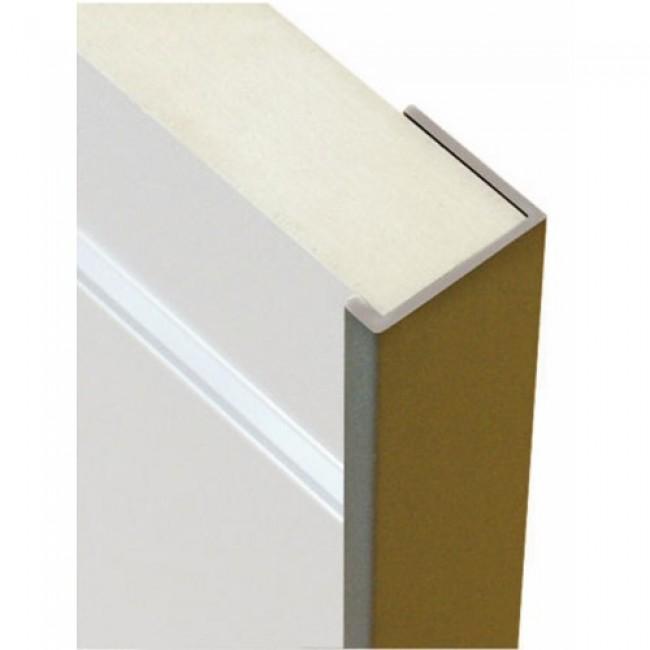 Profil de finition pour panneaux rainurés d'épaisseur 19 mm BRICOZOR