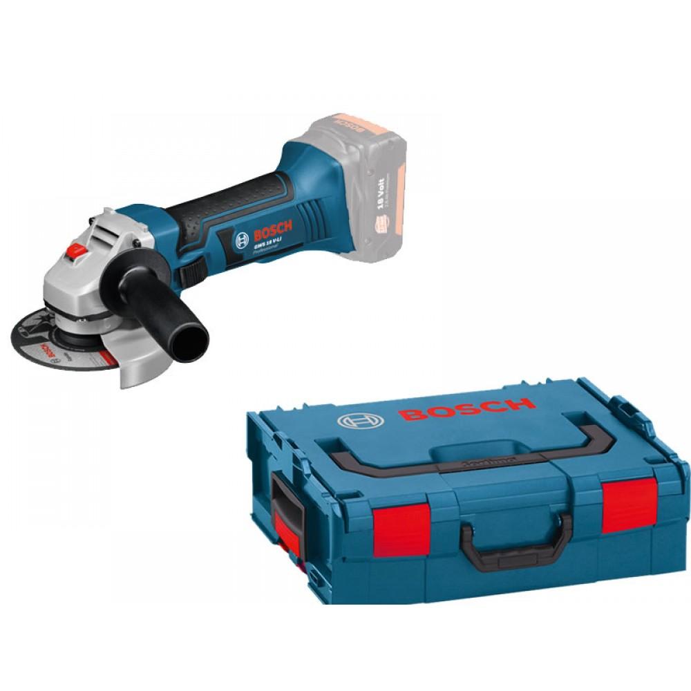 Meuleuse angulaire 125 mm sans fil GWS 18-125 V-LI solo+coffret L-BOXX BOSCH 1b7c193d4277