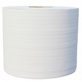 Lot de 2 bobines - 1000 formats - ouate écolabel 100% recyclée PAPECO