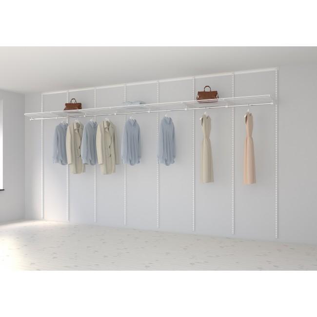 Kit dressing Basique - L420xP40 cm - blanc ELFA