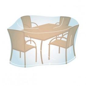 Housse pour ensemble de jardin rectang. ou oval taille M - dim : 100x220x110 cm CAMPINGAZ