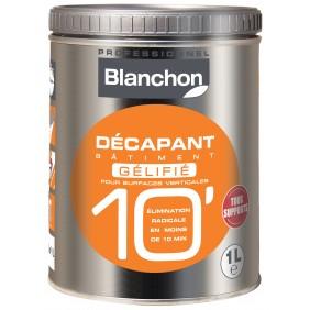 Décapant bâtiment - 10 minutes - gélifié - surfaces verticales BLANCHON