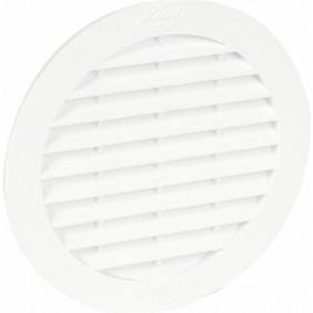 Grille d'aération ronde avec moustiquaire pour tuyau fibrociment NICOLL