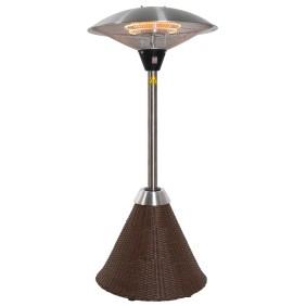 Parasol chauffant lectrique bricozor - Parasol chauffant de table ...