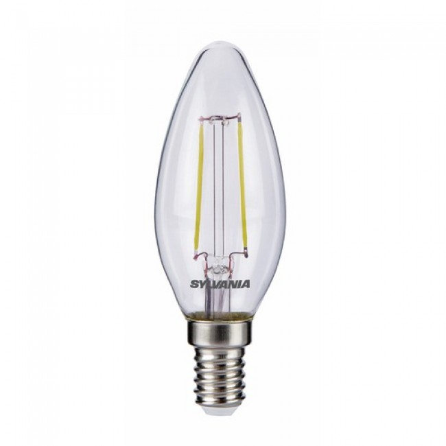 Lampes LED - forme flamme - Toledo retro SYLVANIA