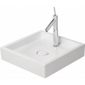 Vasque à poser blanche en céramique blanche - 47 x 47 cm - Starck 1 DURAVIT