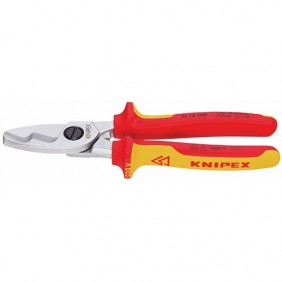 Coupe câble double tranchant 1000 volts - 95 16 200 KNIPEX