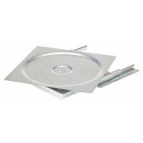 Supports muraux Quadro pour TV classique -charge 40 kg HETTICH