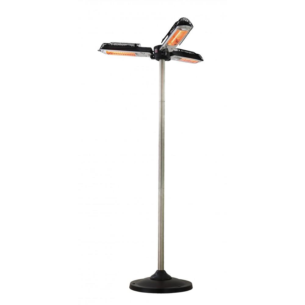 Chauffage ext rieur lectrique de parasol bari 2000 watts favex bricozor - Parasol electrique exterieur ...
