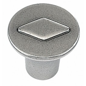 Bouton de meuble Barcino zinc HETTICH