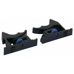 Kit de clips coulisse Quadro V6, 30 et 25 pour tiroirs à rainures HETTICH