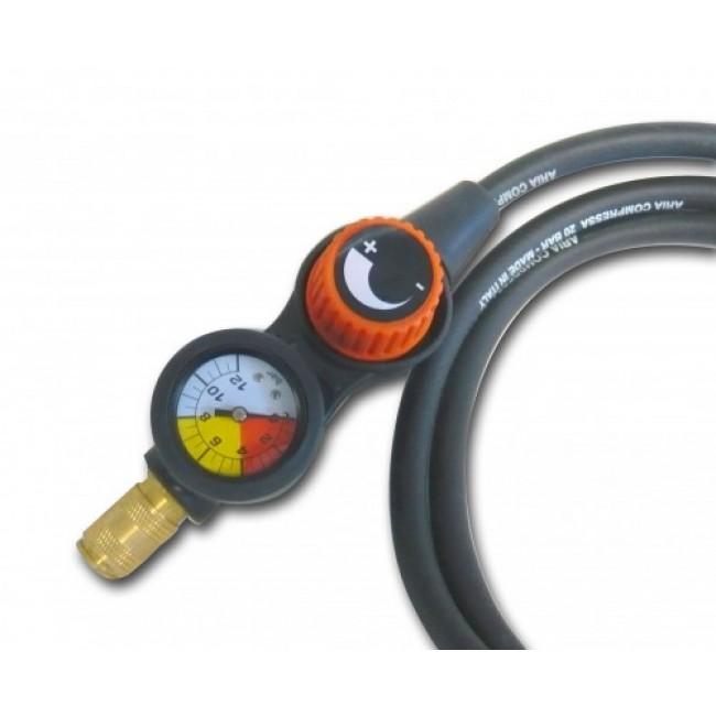 Tuyau air comprimé avec régulateur de pression déporté - PRESSY KIT MECAFER