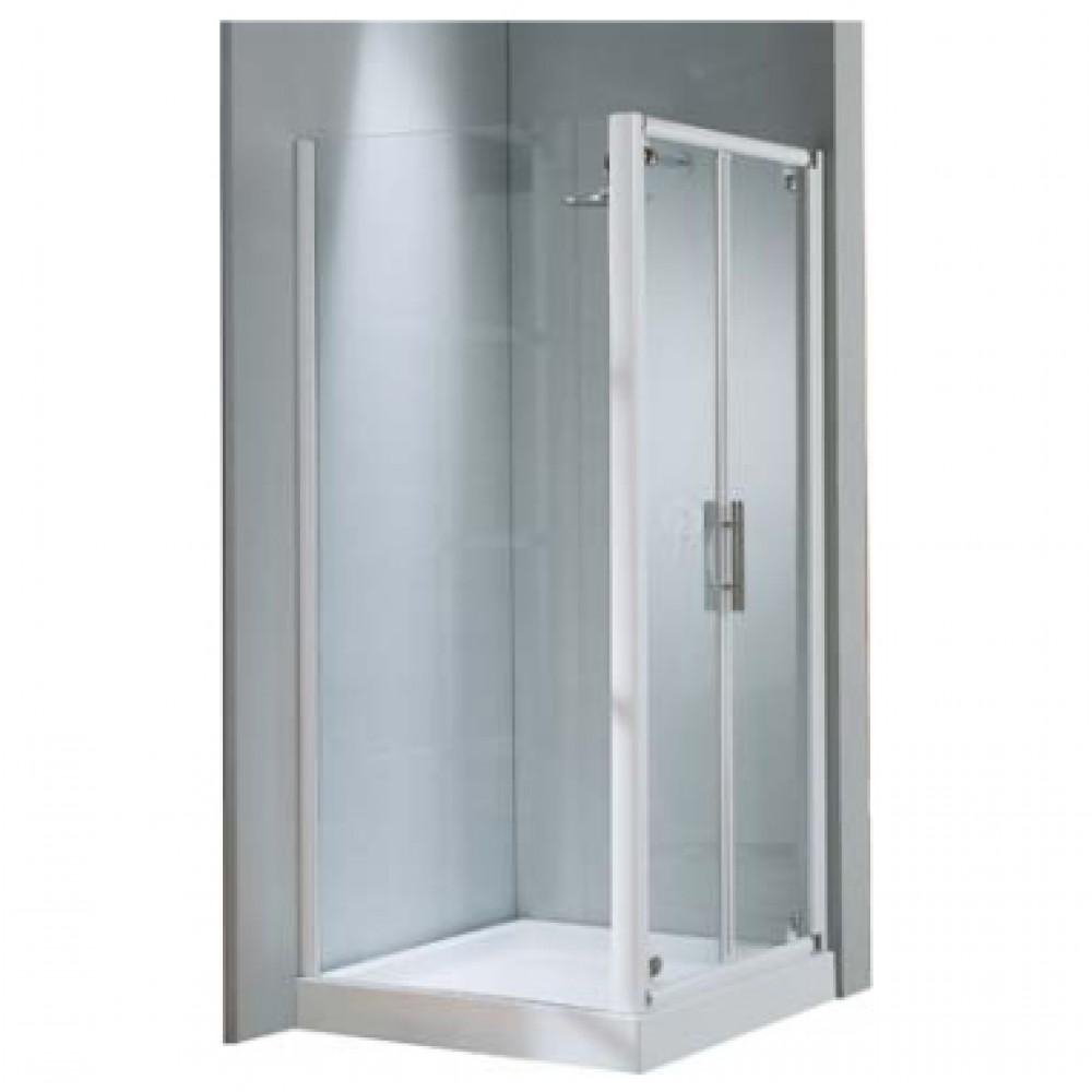 paroi douche fixe verre transparent lunes f r glable de 78 84 cm bricozor. Black Bedroom Furniture Sets. Home Design Ideas