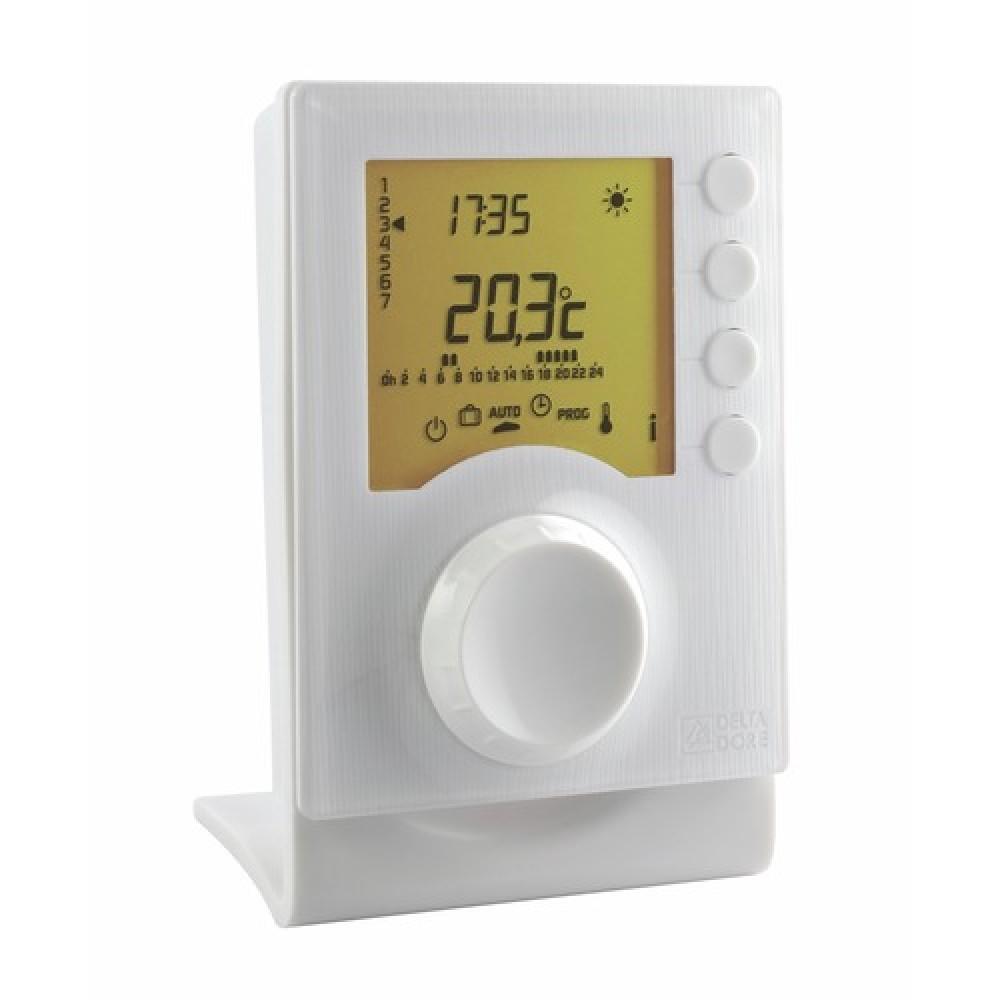 thermostat digital programmable sans fil tybox 137 delta dore bricozor. Black Bedroom Furniture Sets. Home Design Ideas