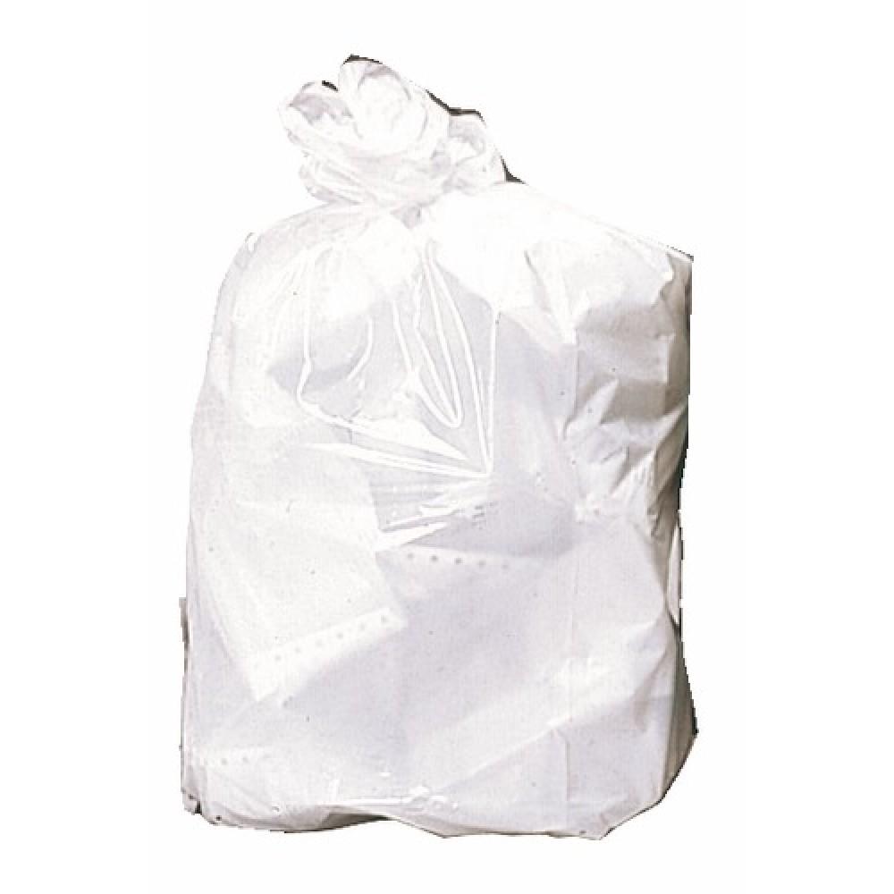 Sacs poubelles noirs 50 litres, par 25 sacs BRICOZOR