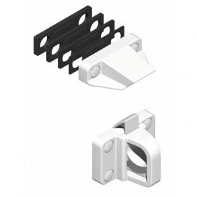 Loqueteau pour châssis PVC - en polyamide blanc - DS7465 LA CROISÉE DS