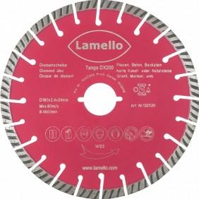 Lame pour Tanga DX 200 - Diamètre 200mm pour PVC LAMELLO