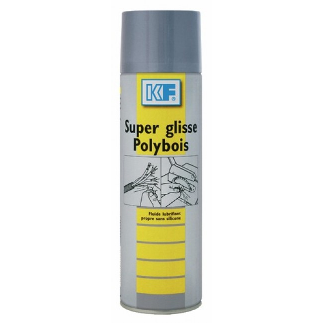 Lubrifiant pour le travail du bois sur table - Super glisse Polybois KF