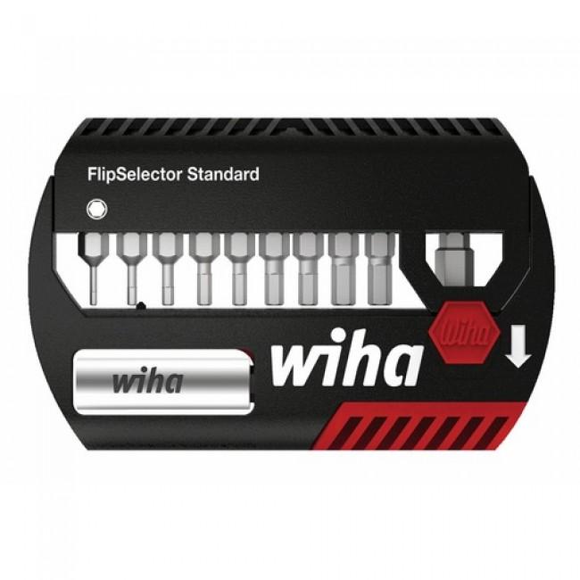 Coffret 11 pièces FlipSelector Standard 6 pans WIHA