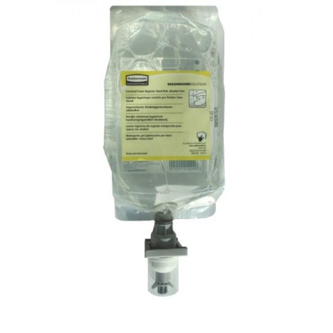 Recharge savon distributeur Autofoam - sans alcool - 4 x 1100 ml RUBBERMAID