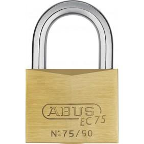 Cadenas laiton ec75 - largeur 50mm - 5 clés - 75/50 ABUS