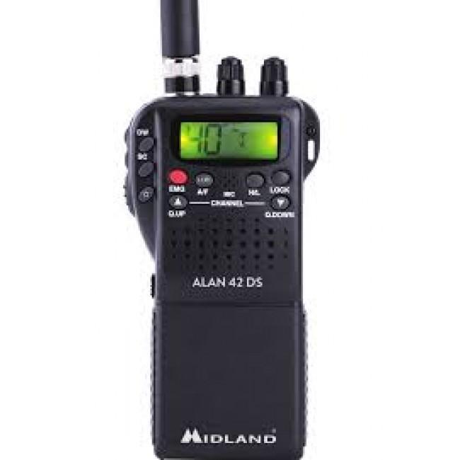 Talkie-walkie 2 en 1 - ALAN 42 DS MIDLAND