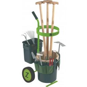 Chariot range outils de jardin ZIPPER