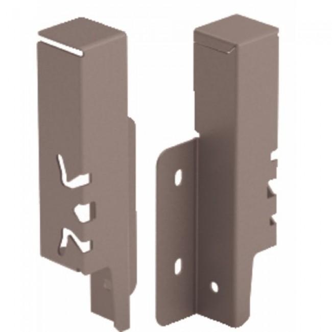 Raccords de paroi arrière pour tiroir ArciTech-H126 mm-anthracite HETTICH