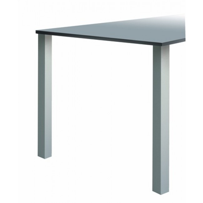 Pied de table - aluminium anodisé - carré - lot de 4 - Quadra 647 CAMAR