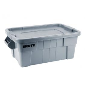 Caisse de transport - Brute - Capacité 53 Litres RUBBERMAID