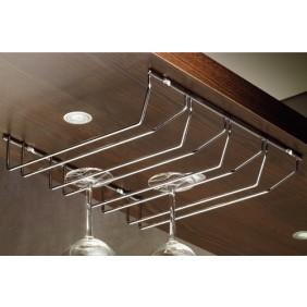 porte verre suspendu rack et support bricozor. Black Bedroom Furniture Sets. Home Design Ideas