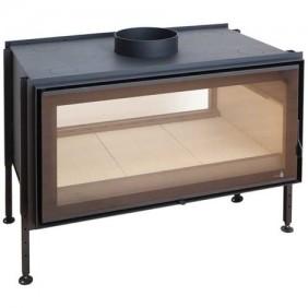 Insert à bois - pour surface 130m2 - L100 x P65 x H48.8 cm - C1000DF TERMOFOC
