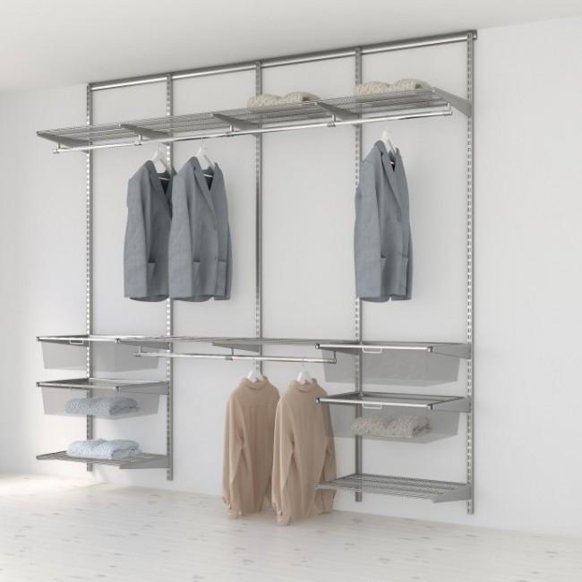 Kit Dressing Classique Plus - L240x40 cm - Platinium ELFA
