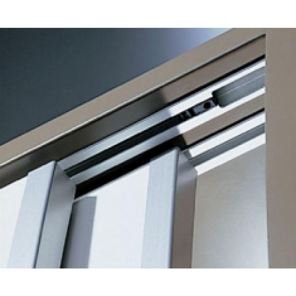 Syst me porte coulissante topline 110 vantail 20 kg bricozor - Systeme de porte coulissante suspendue ...