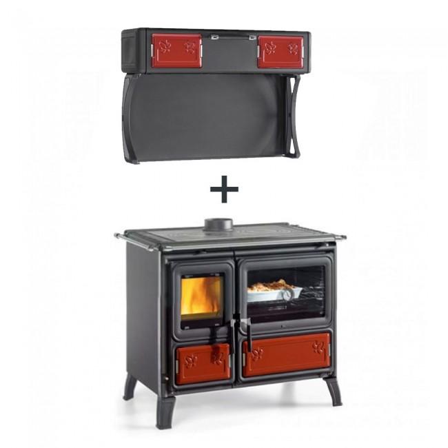 Cuisinière à bois - Milly - 8,7 Kw - Four 78 L LA NORDICA EXTRAFLAME