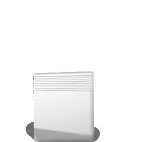 Convecteur Tactic - Digital - Aluminium Airalu  - Blanc AIRELEC