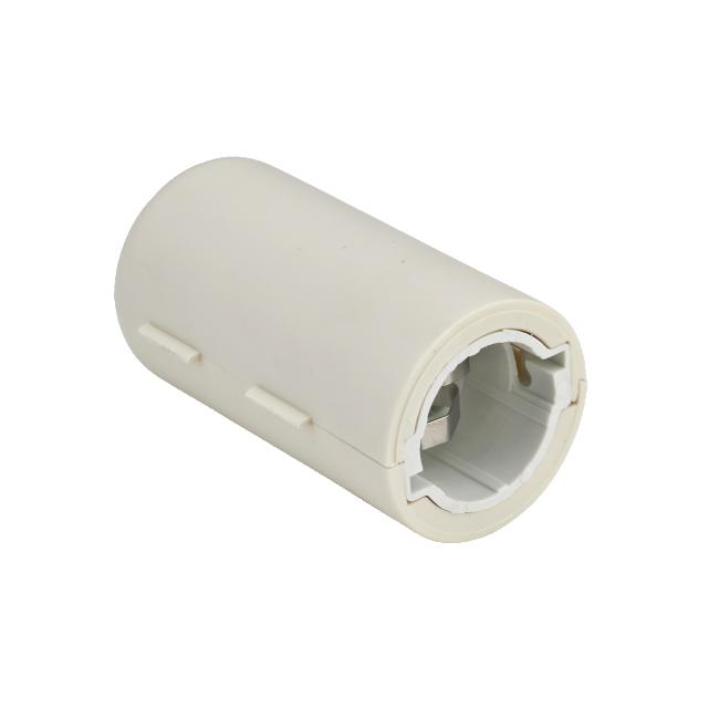Douille de chantier - à baïonnette B22 - coiffe serre câble - blanc DEBFLEX