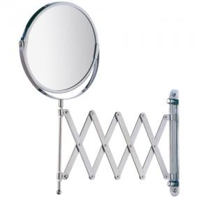 Miroir grossissant x3 - support mural et bras télescopique WENKO