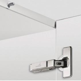 Charnières invisibles Push to Open 110° Intermat 9973-à visser HETTICH