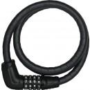 Câble antivol de vélo à clé - double protection - Trésorflex 6615C ABUS