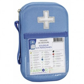 "Trousse de secours - accidents de type ""soudeur"" - 2/4 personnes FARMOR"