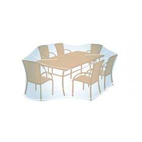 Housse pour ensemble de jardin rectangulaire ou ovale - 100x280x200 cm CAMPINGAZ